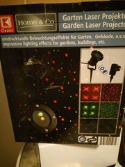 Garten Laser Projektor mit Fernbedienung