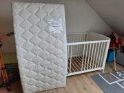 Kinder- Gitterbett inkl Matratze 140cm
