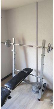 Fitness Hantelbank