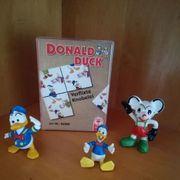 Donald Duck Micky Maus Figuren