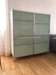 2 Sideboards Designer-Marke Minotti weiss