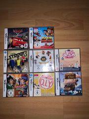 Nintendo DS-Spiele jeweils im 2er