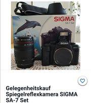Sigma sa 7 kamera