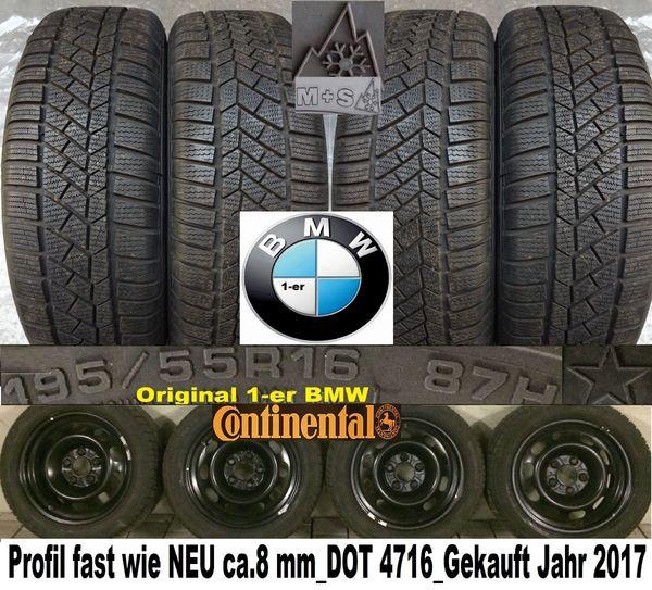 Wie NEU BMW-1er Rreifen 195