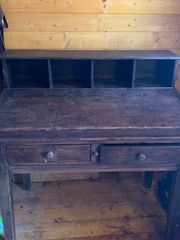 Sekretär - Schreibtisch - Schreibpult - Vollholz -antik