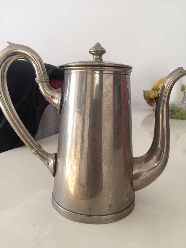 Deutsches Reich Teekanne Silber
