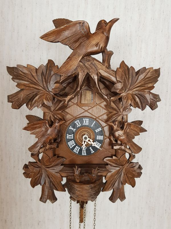 Original Schwarzwälder Kuckucksuhr in Bad Rappenau - Uhren kaufen ...