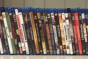 BluRay DVD Filme Sammlung