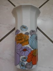Rosenthal Vase Polygon Blumen Design