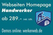Handwerker Webseiten Homepage 35 Demos
