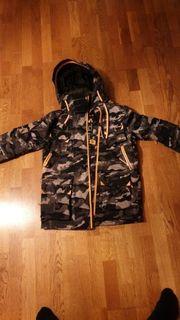 Superdry Coumflage Jacke Grau
