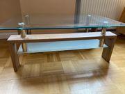 Glastisch Couchtisch Holztisch gebraucht