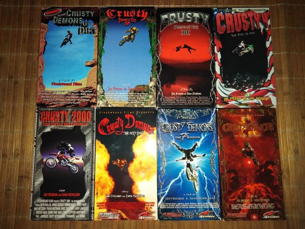Crusty Demons of Dirt VHS