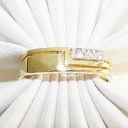 Ring Gold 333er Zirkon Goldschmuck