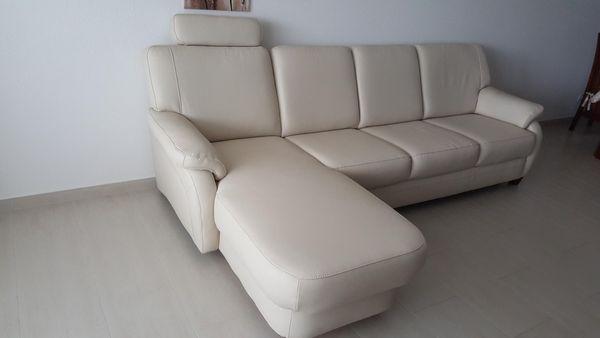 Sofa Leder mit Schlaffunktion und