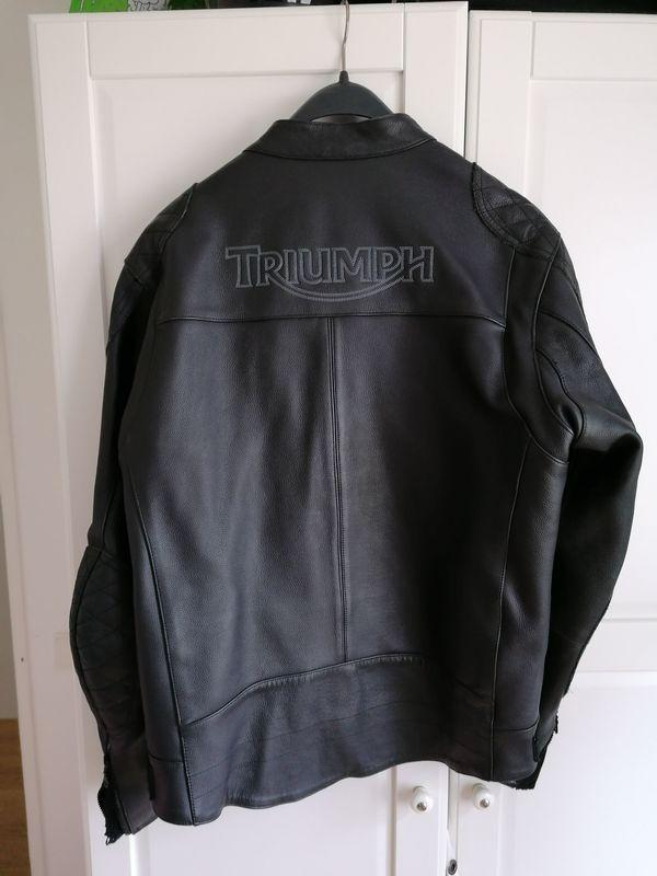 Triumph Motorcycle Lederjacke