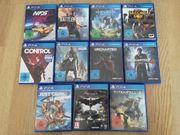 Neuwertige PS4 Spiele auch einzeln
