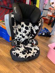 Römer Kindersitz Isofix cowmooflage schwarz