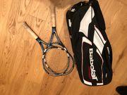 2 Tennisschläger inkl Tasche