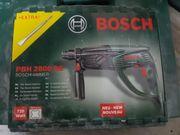 Bosch Bohrhammer PBH 2800 RE -