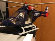 Playmobil Polizeihubschrauber mit Pilot