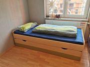 Jugendzimmer Kojenbett Tagesbett mit Duoliege