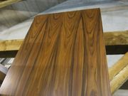 dekorative Holzplatte - Palisander - Echtholzfurnier
