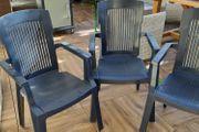 3 Gartenstühle