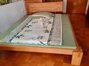 Bett Lehne Kopfteil Buche Massivholz