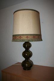 Stehlampe mit Keramikfuß