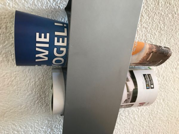 Wand Zeitschriftenhalter Zeitungshalter Metall - tolles