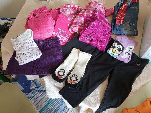 Kleiderpaket für Mädchen Grösse 110