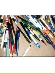 Kugelschreiber Füller Druckminenbleistift Sammlung