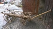alter Leiterwagen