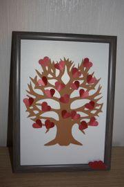 Baum der Liebe - im Holzrahmen
