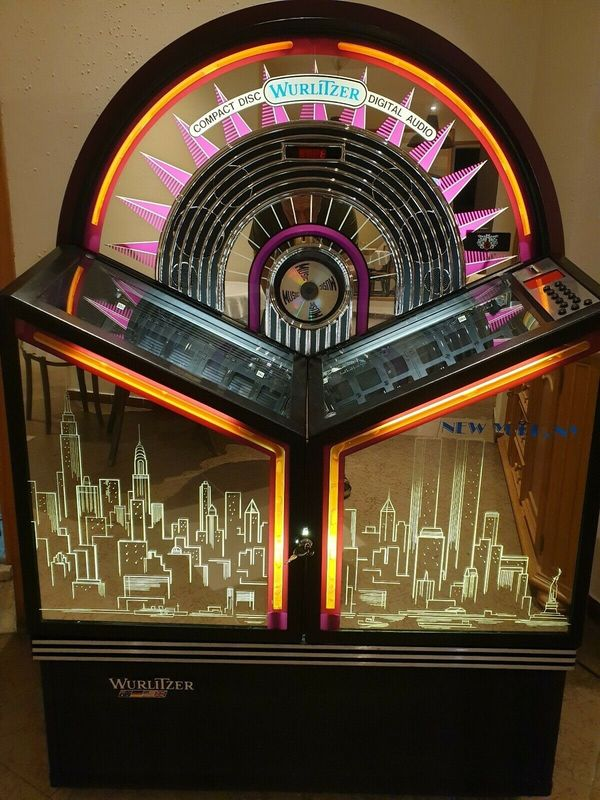 JUKEBOX WURLITZER NEW YORK CD