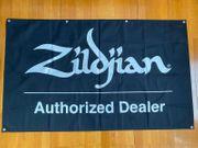 Zildjian Cymbal Logo Flagge Fahne