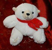 NEU - Kleiner weißer Eis-Bär - 9 cm
