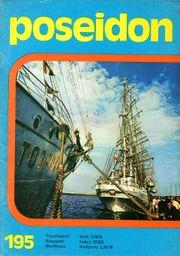 DDR Zeitschrift poseidon - Maritimes 03