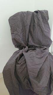 Spannbettlaken - grau - 90-100 x 200
