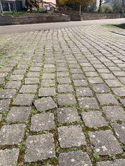 Beton-Pflastersteine - gegen Abholung Aufladen kostenlos