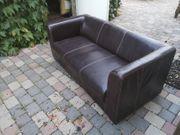 Kunstleder Couch kaum benutzt