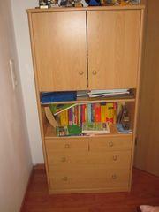 Jugend Kinderzimmer Kommode Schrank