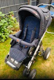 Hartan Racer Kinderwagen inkl Babytragetasche