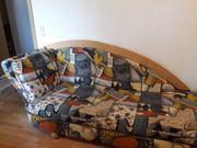 Biete Sofa mit Schlaffunktion - VB