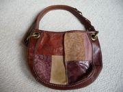 Damenhandtasche Lederhandtasche Patchwork Fossil