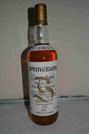 Springbank Whisky 1965