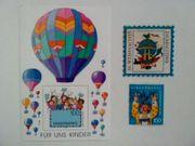 Briefmarken BRD Kinder Ballon