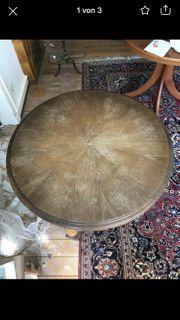 Holztisch rund Antik