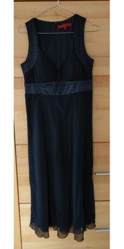 Seidenkleid schwarz Donna by Hallhuber